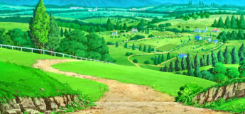 Pokemon Route 1 in the anime