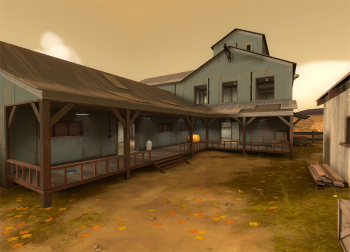 koth_harvest TF2 maps