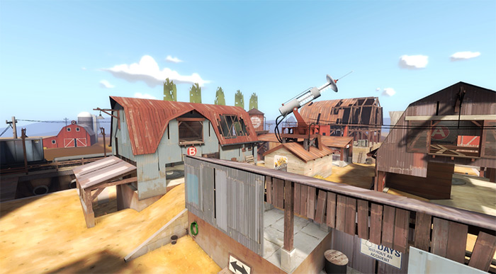 arena_byre TF2 maps