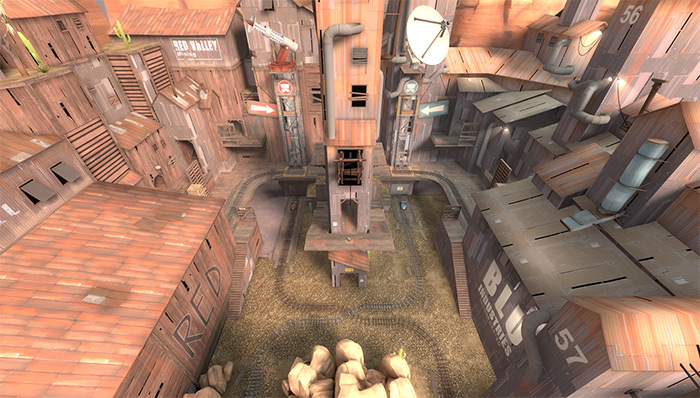 plr_hightower TF2 maps