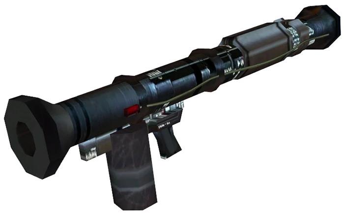 RPG Rocket Launcher in HL2