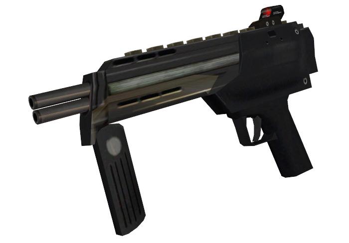 SMG gun in Half Life 2