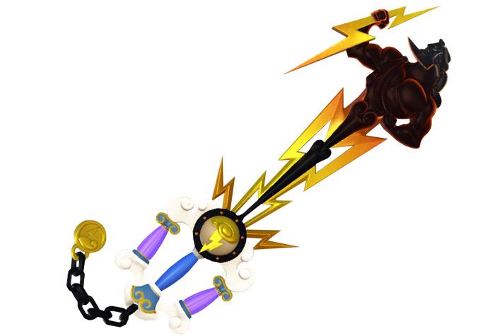 Heros Origin hercules keyblade kh3