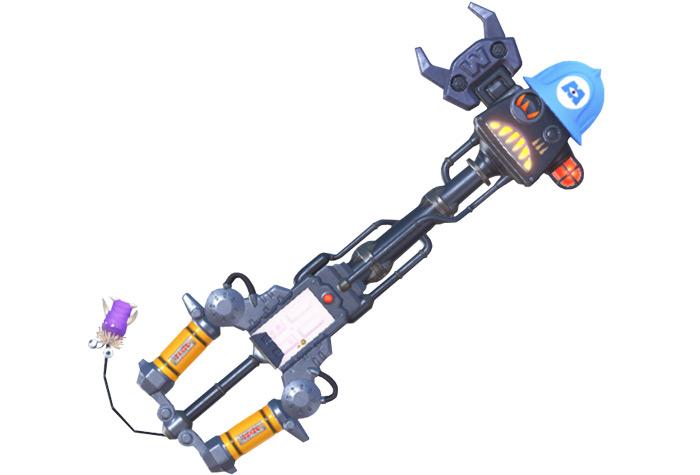Happy Gear keyblade from KH3
