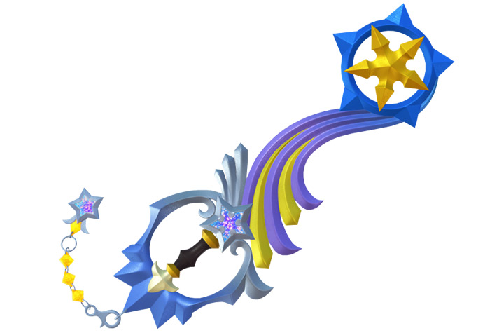 Shooting Star keyblade from KH3