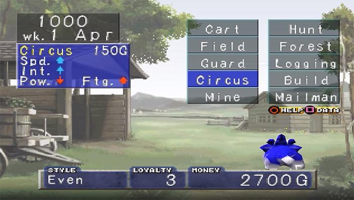 Monster Rancher 1 original gameplay