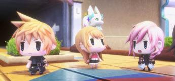 WoFF chibi characters