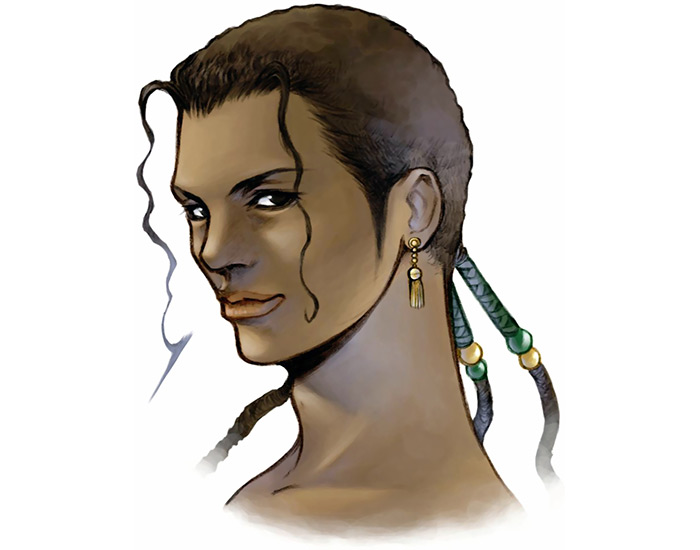 Kiros FF8 character