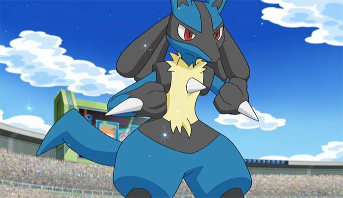 Lucario - smart pokemon