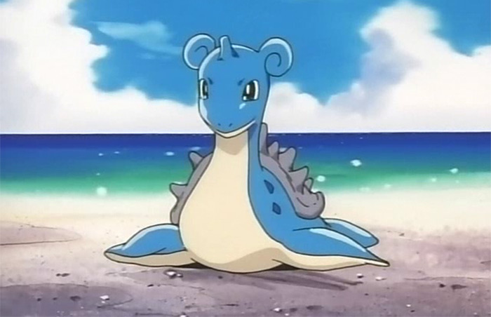 Lapras from the anime