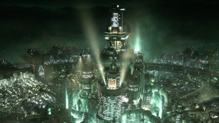 Midgar FF7 town, best Final Fantasy town
