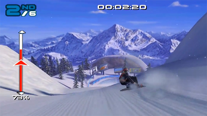 SSX 3 video game screenshot