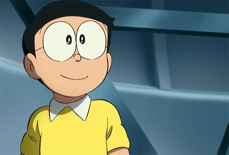 Nobita bowl cut - Doraemon anime