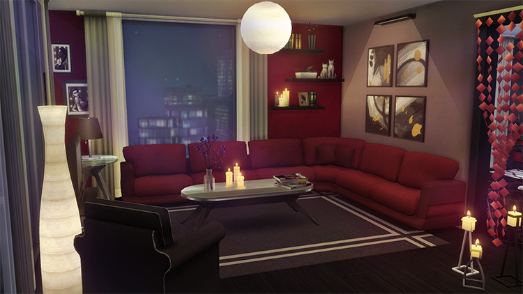 Luxurious Sinking Device - Sims 4 Couch CC