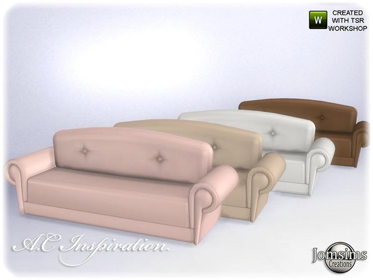 AC Inspiration Sofa Sims4