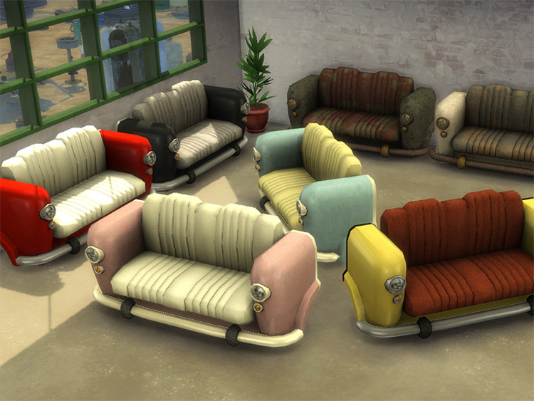 The Love Bug CC for Sims 4