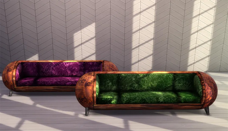 Time Capsule Couch in The Sims 4