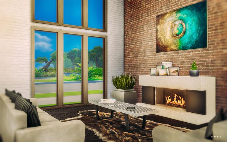Bamboo Lounge TS4 CC