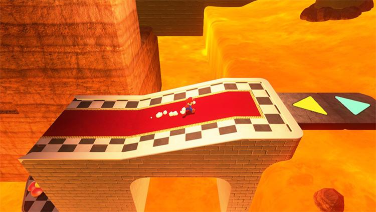 Bowsers Castle - Super Mario Odyssey mod