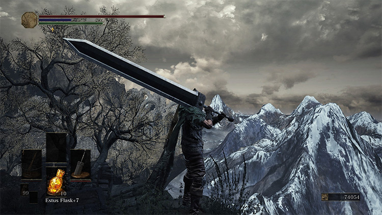Dragonslayer Greatsword Retexture - DS3 Mod