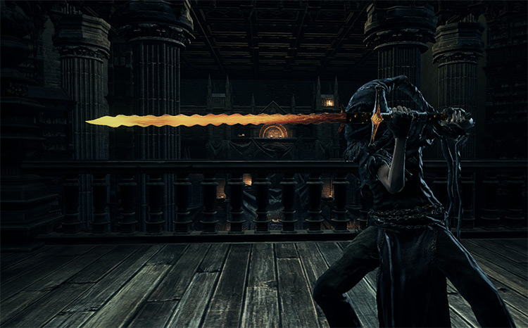 Burning Weapons in DS3