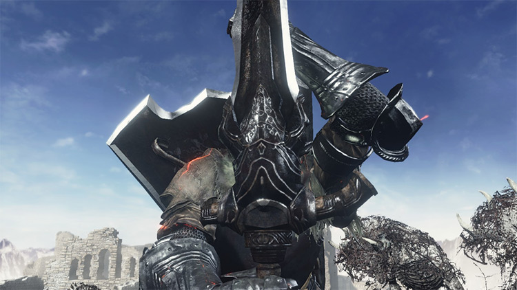 Ultimate Greatsword of Artorias modded for DS3