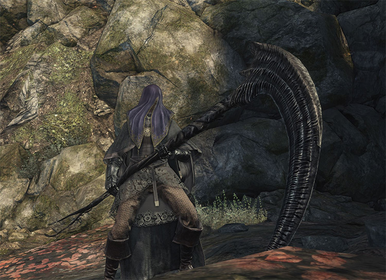 DS3 mod - Dark Souls 2 Weapons pack