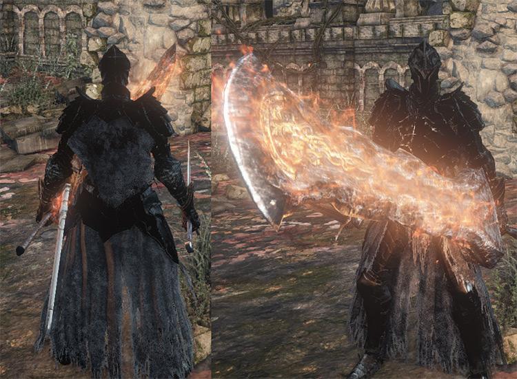 DS2 Raime Cosplay Armor - Dark Souls 3 Mod