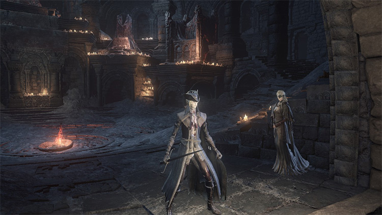 Lady Maria of the Astral Clocktower DS3 Mod
