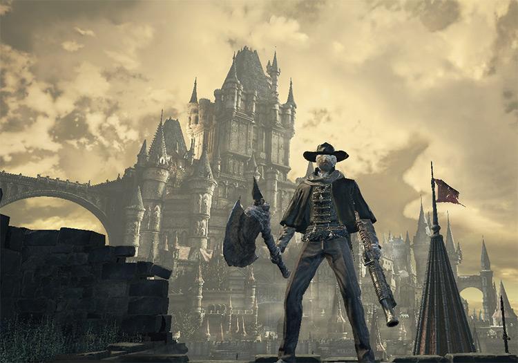 Bloodborne Hunter Attires Mod for DS3