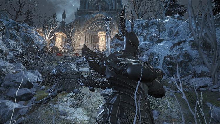Ebony Knight Armor for Dark Souls 3