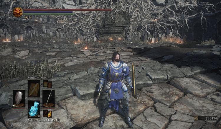 Stormwind Guardsman's Armor - Dark Souls 3 Mod