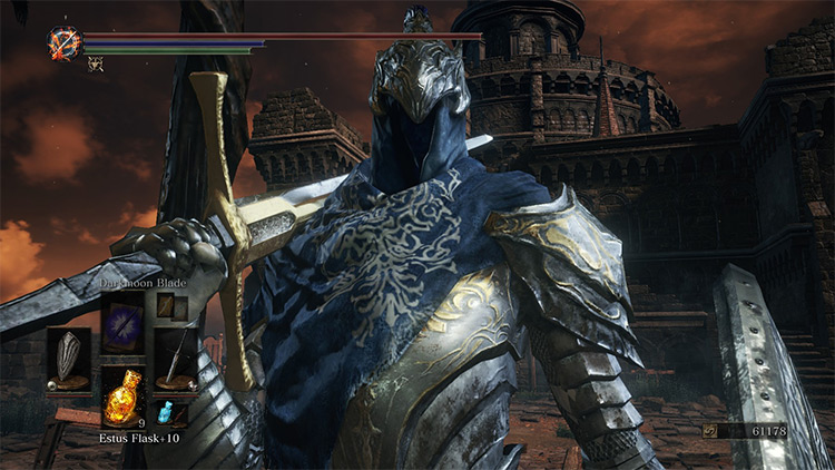 Restored Wolf Knight Armor DS3 Mod