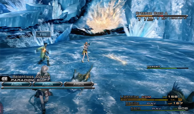 Gameplay Tweaks FF13 mod