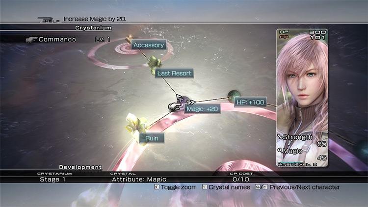 Crystarium Editing mod for FF13