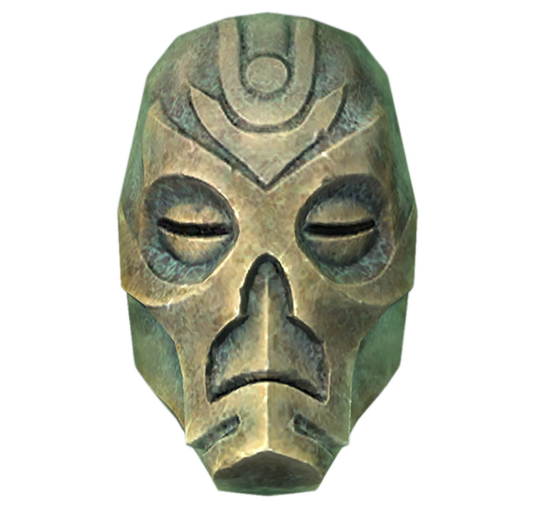 Dragon Priest Mask - Krosis in Skyrim