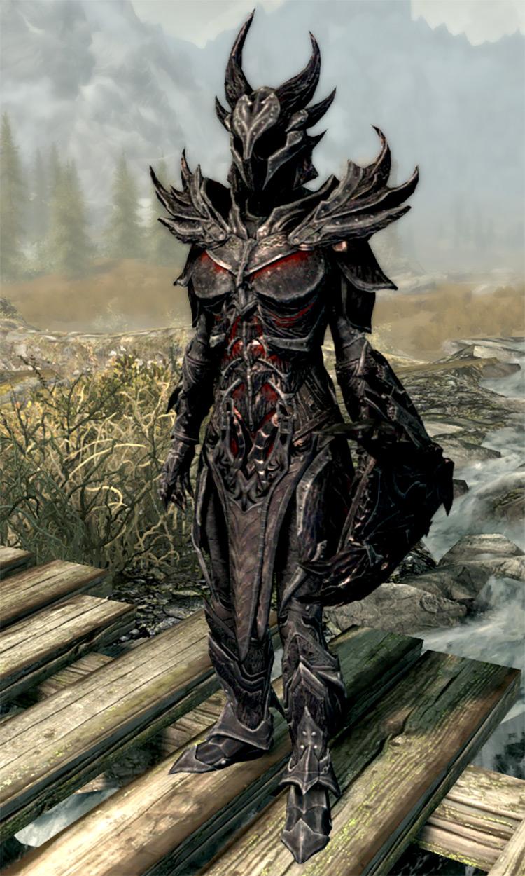 Daedric Armor Set in Skyrim