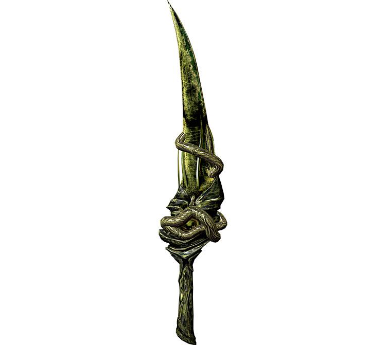 Miraak's Sword in Skyrim