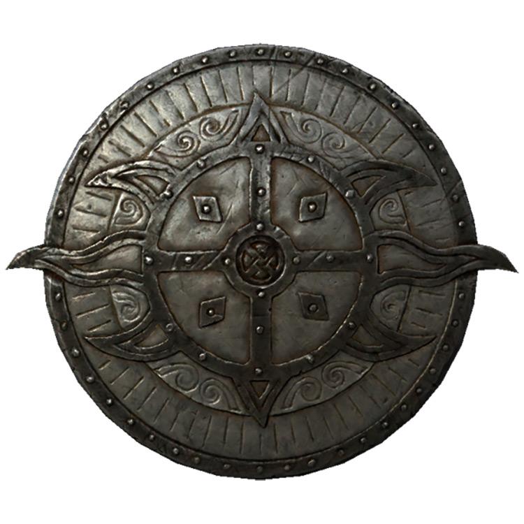 Dawnguard Rune Shield in Skyrim