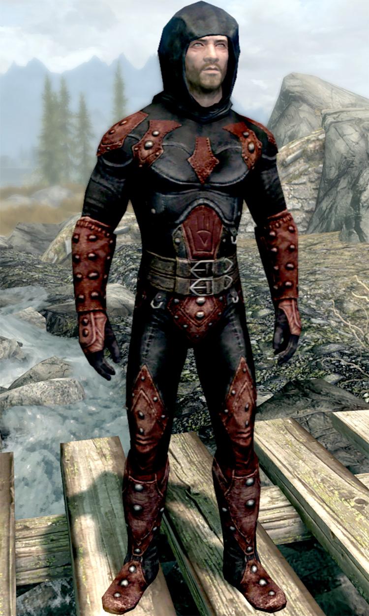 Shrouded Armor in Skyrim