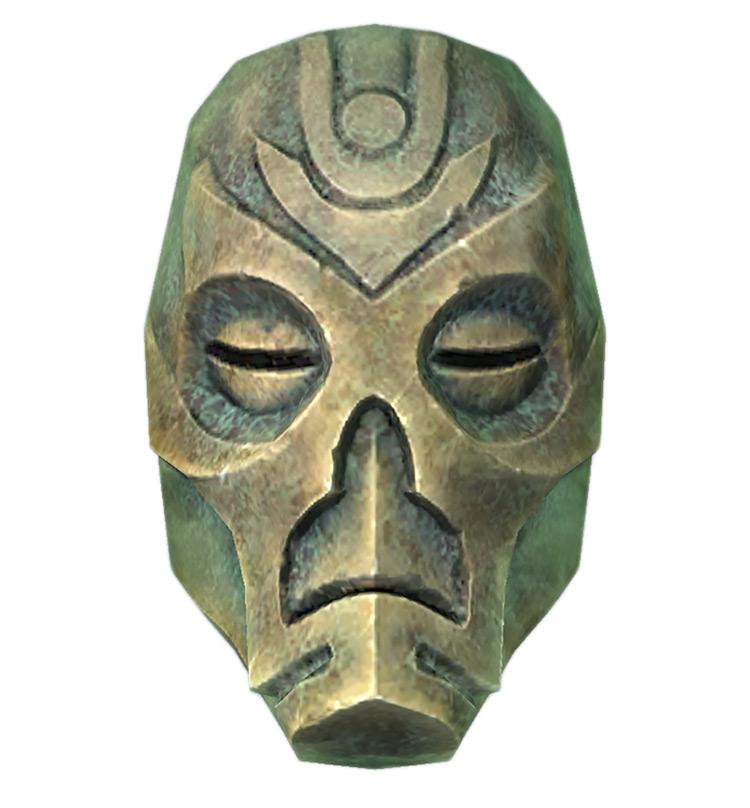 Krosis Dragon Priest Mask Skyrim