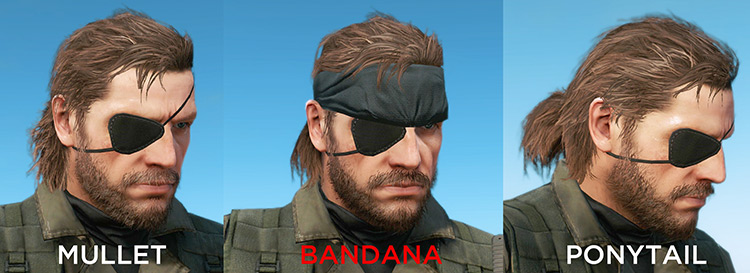 Big Boss character in MGS V