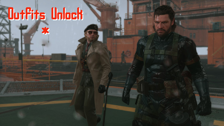 MGS5 Outfits Mod screenshot