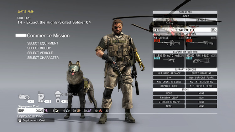 Real Weapons Name Update MGS V Phantom Pain Mod