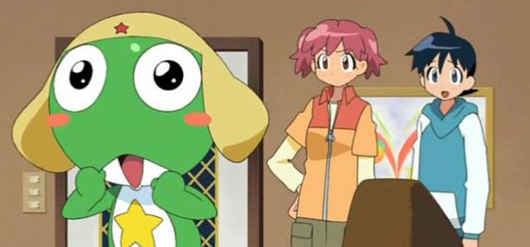 Keroro Gunso - Green Alien Character Anime Screenshot