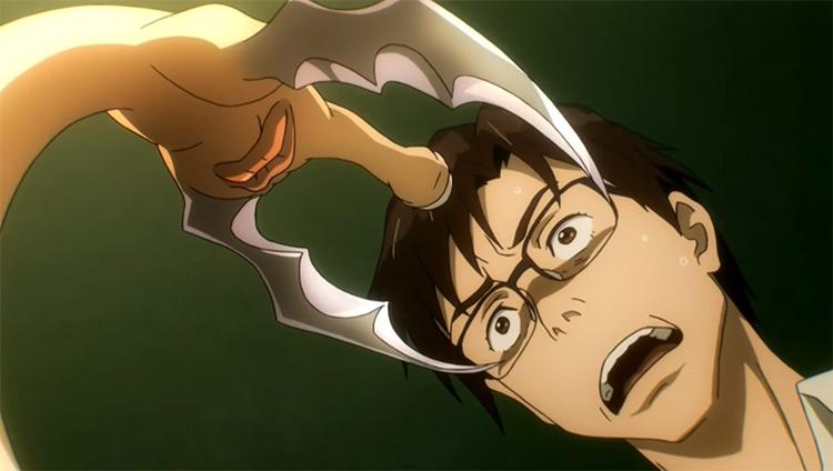 Parasyte Alien Anime screenshot
