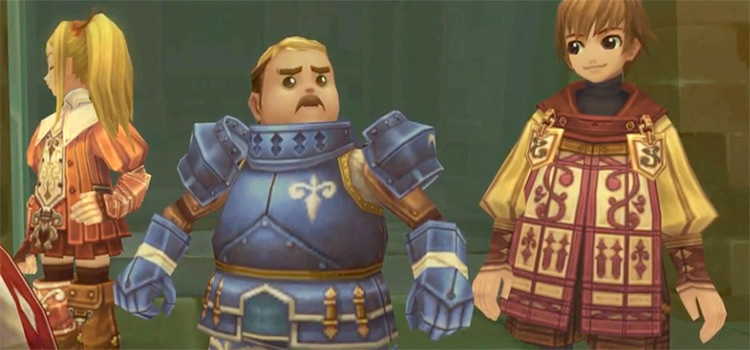 Radiata Stories characters - PS2 screenshot