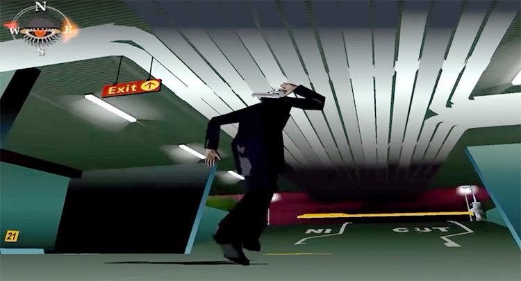 Killer7 Game PS2 screenshot