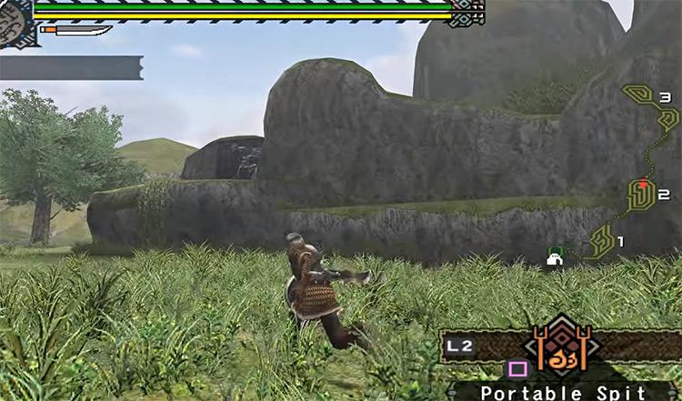 Monster Hunter PS2 gameplay screenshot