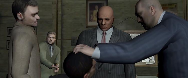 The Getaway game cutscene screenshot